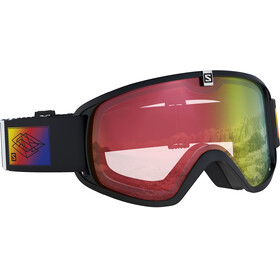 Salomon Juniors Photo Trigger Goggles Black/Red